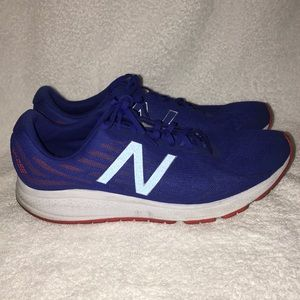 Red and Blue New Balance Vazee Rush Size 13